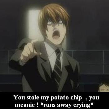 My potato chip !