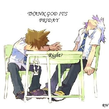Riku and Sora - TGIF