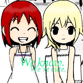 Kairi and Namine - Cute