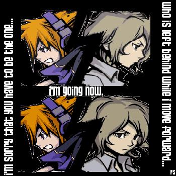 Joshua and Neku - Moving Forward