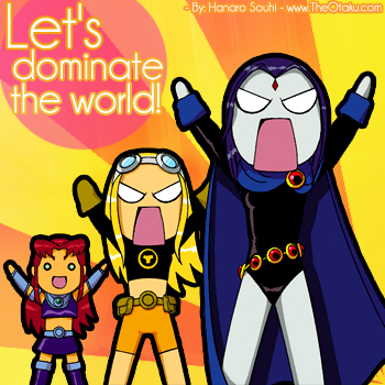 - Let's Dominate the World! -