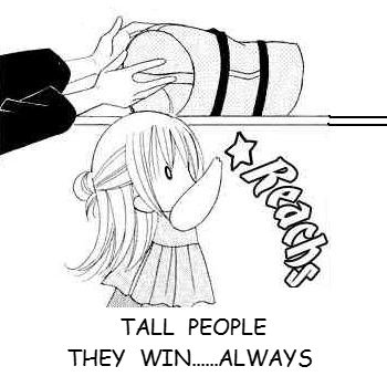 Tall people