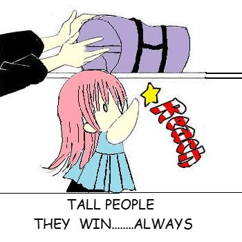 Tall people (coloured)