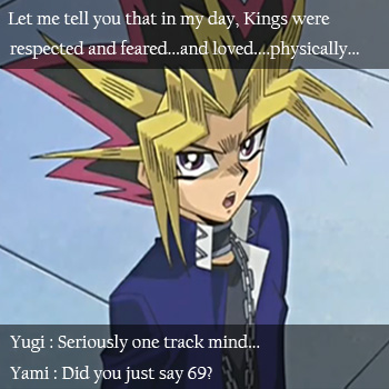 Yami telling about Kings in his day