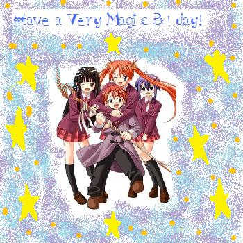 Negima Birthday