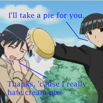 I'll take a pie for you