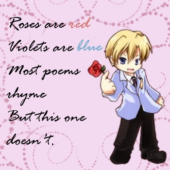 Poem straight from the heart