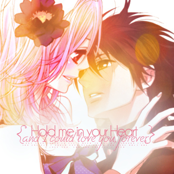 {Hold me}