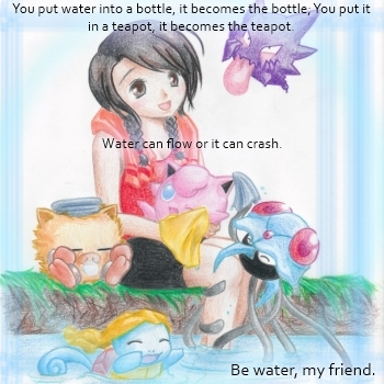 Water, my friend.