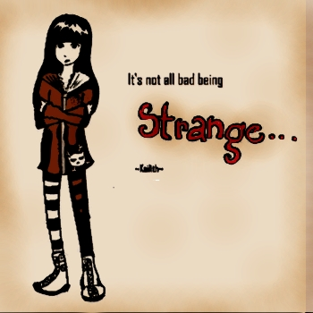 It's not all bad being STRANGE - eCard