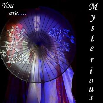 Mysterious.....