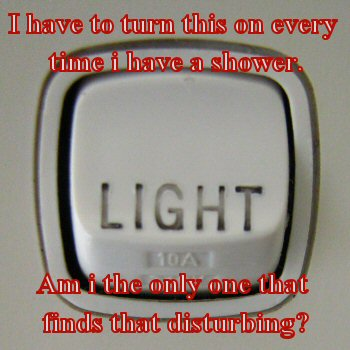 Turn on light &gt;.&lt;