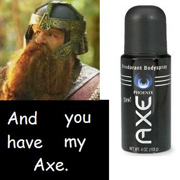 Gimli's Axe