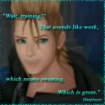 Demyx has good hygene