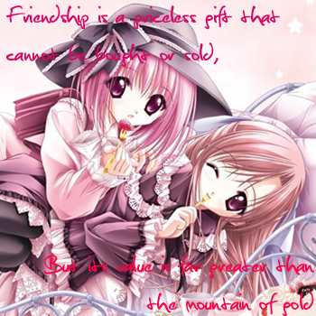 Category: Other Anime and Manga Cards; Tags: anime, best friend, cute,