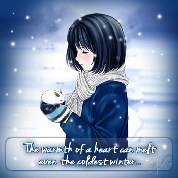 >>The warmth of a heart<<