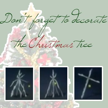 Don't Forget to Decorate the Christmas Tree