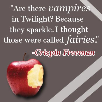 Sparkles on MY Vampires?!