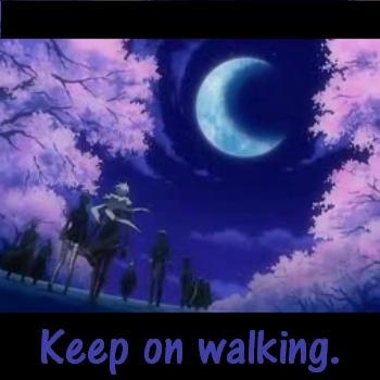 Keep On Walking