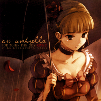 umbrella [the sky Cries]