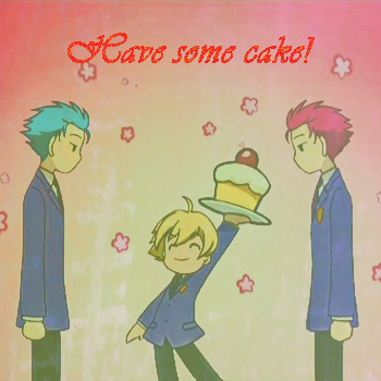 Have some cake! ^^