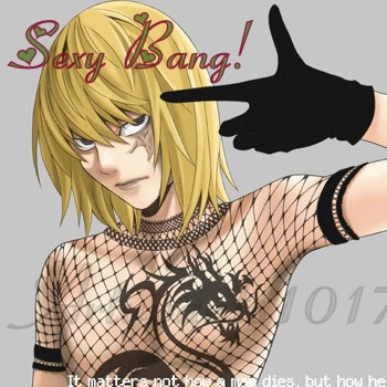 Mello's sexy bang