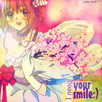 need your smile