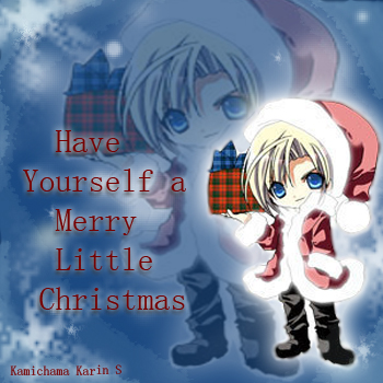 A Merry Little Christmas! ^-^