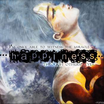 Happiness? Part One