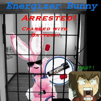 Energizer Bunny ARRESTED??!