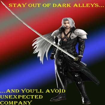 Sephiroth-Dark Alley