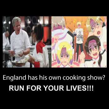 Englands cooking show
