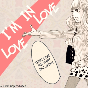 Princess Jellyfish in love