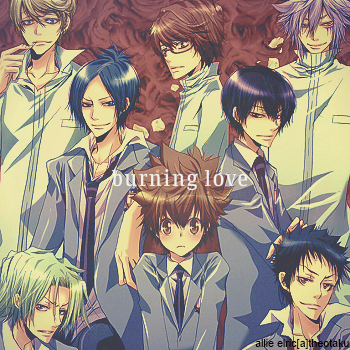 burning [l o v e]