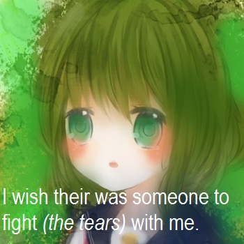 Fight (the Tears) With Me
