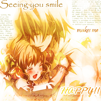 *Seeing you smile...*^_^