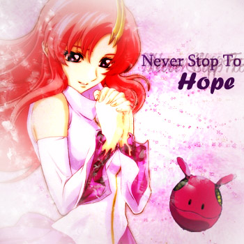 never stop to hope