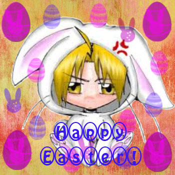 Edward the Easter Bunny