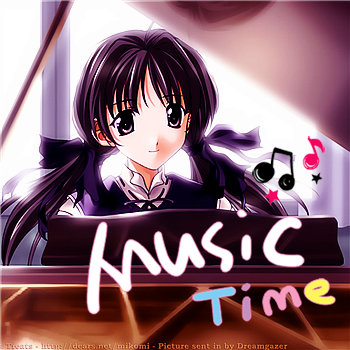 Music time! Piano....