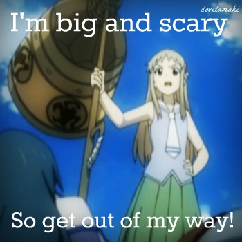 Big and Scary!