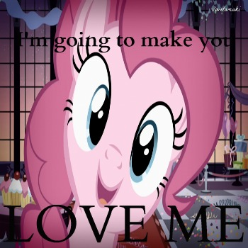 Overly Obsessed Pinkie Pie