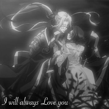 I will always Love you! (Black and White)
