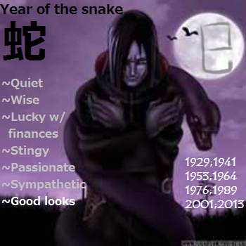 Year of the Orochimaru