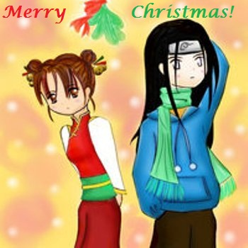 Merry Christmas from Neji and Tenten