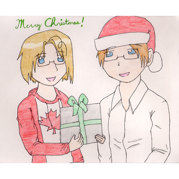 SS Gift - Merry Christmas from Alfred and Matthew!