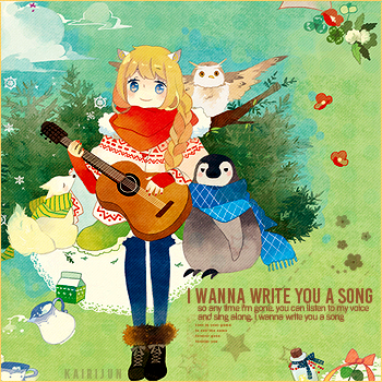 Write you a song