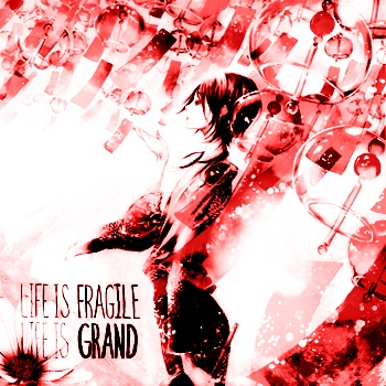 Life is Fragile, Life is Grand(Red verison)