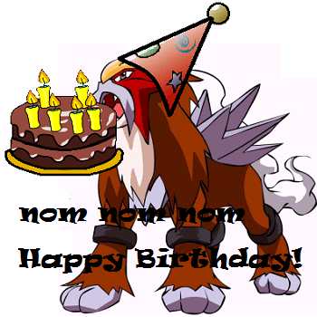 Entei Birthday