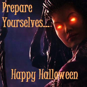 Sarah Kerrigan's Halloween Greeting